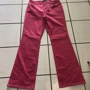 Talbots Curvy Corduroy Boot Leg Pants Size 12
